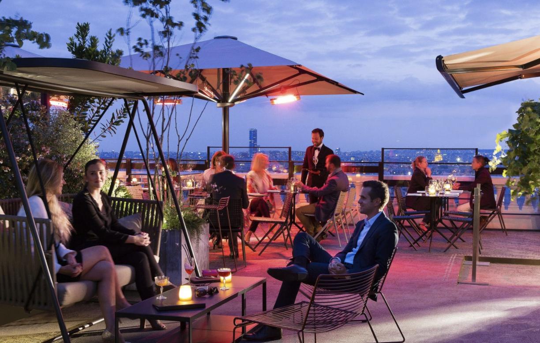 10 meilleurs rooftops paris / terrass''Hôtel