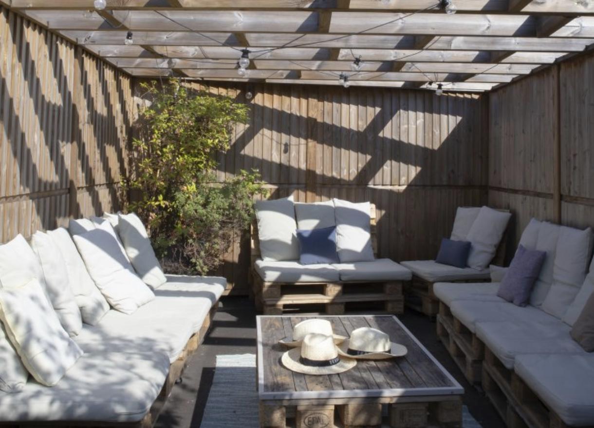 Rooftop paris / Terrasse Paros