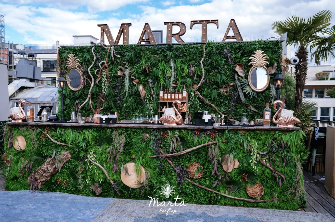 Rooftop Marta Fouquet's Paris / Terrasse paris