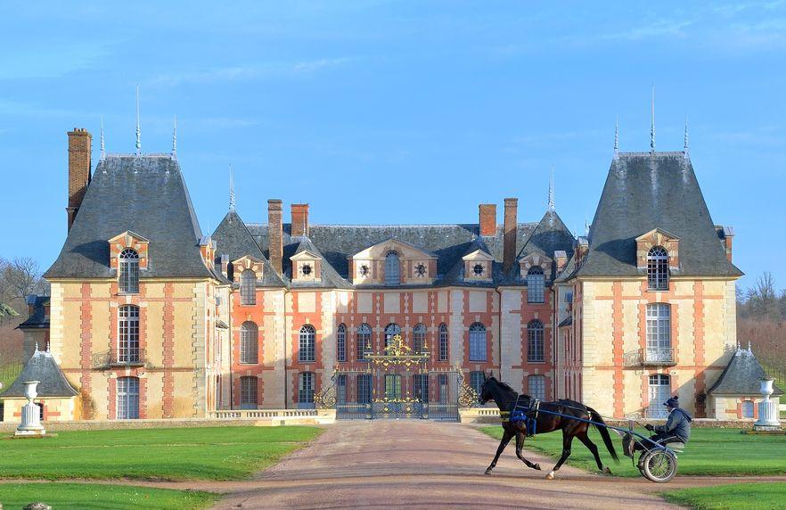 Château Domaine de Grosbois / Letrot / Centre équestre / Courses hippiques