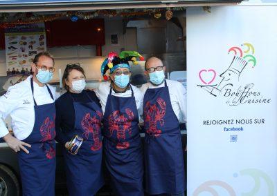 Christophe Le Fur (Auberge Grand Maison), Sonia Dupuis (Cook and Com), Patrick Jeffroy, Matthieu Garrel (Le Belisaire)