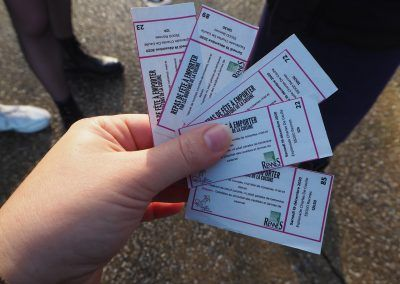 Les tickets
