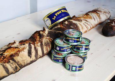 Le pain du partage et notre partenaire Hénaff