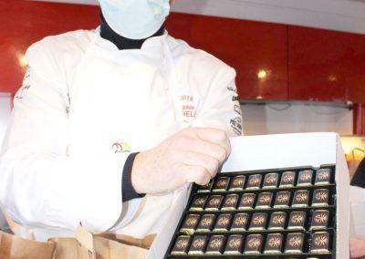 Christophe Le Fur et Les chocolats Valhrona