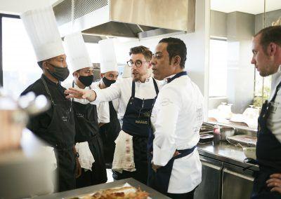 Rova Caviar - Les chefs en action