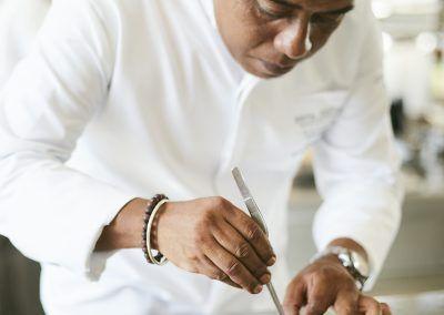 Rova Caviar- Chef lalaina Ravelomanana
