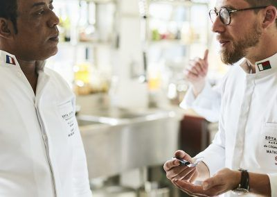 Rova Caviar - Chefs lalaina Ravelomanana et Mathieu pérou