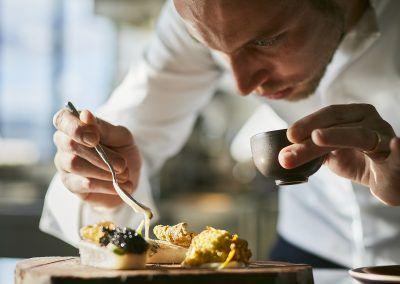 Rova Caviar - Chef Irwin Durand