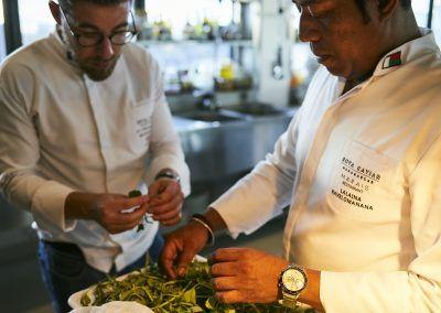 Rova Caviar - Les chefs Mathieu Pérou et Lalaina Ramanantsoa
