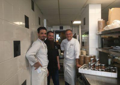 Restaurant L'Aiglon, Bruno Morvant Pontivy